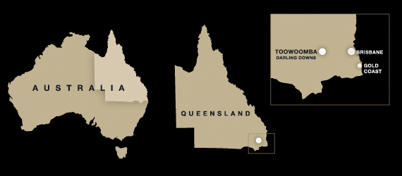 Highgrove location map